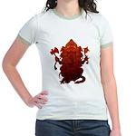Ganesha3 Jr. Ringer T-Shirt