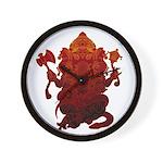 Ganesha3 Wall Clock