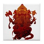 Ganesha3 Tile Coaster