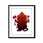 Ganesha3 Framed Panel Print