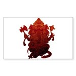Ganesha3 Sticker (Rectangle 50 pk)
