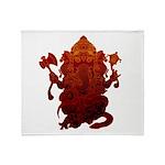 Ganesha3 Throw Blanket