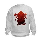 Ganesha3 Kids Sweatshirt