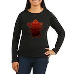 Ganesha3 Women's Long Sleeve Dark T-Shirt