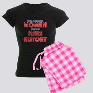 Unique Well Behaved Women Women's Dark Pajamas