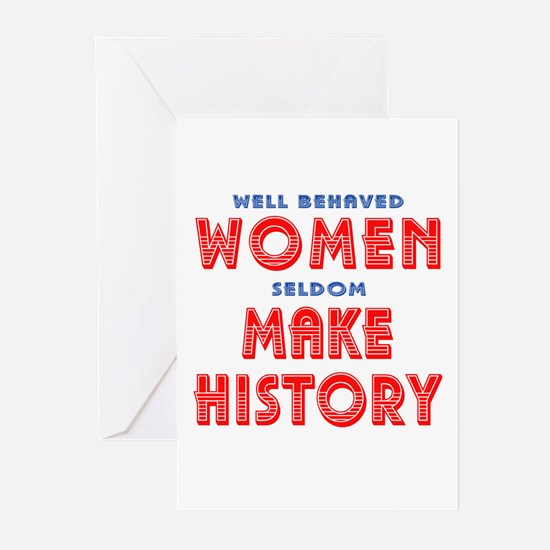 Unique Well Behaved Women Greeting Cards (Pk of 10