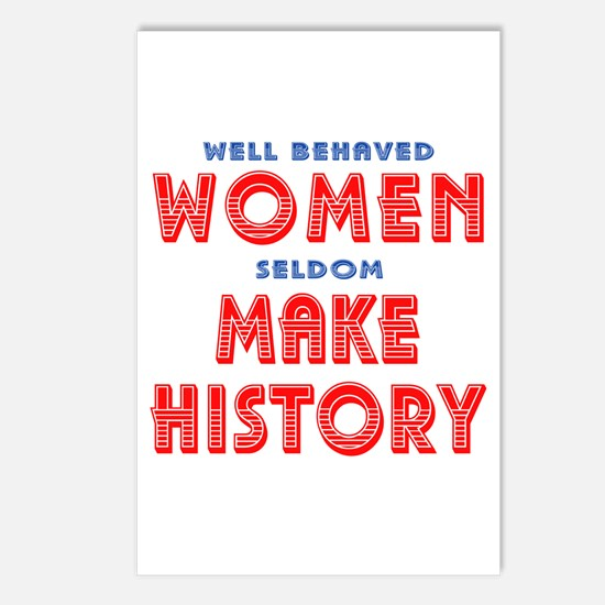 Unique Well Behaved Women Postcards (Package of 8)