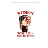 Women rights Postcards