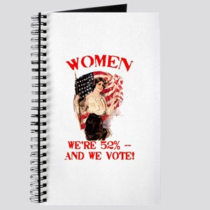 Women 52% and We Vote Journal