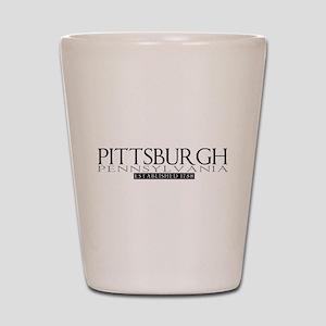 Pittsburgh PA Shot Glass