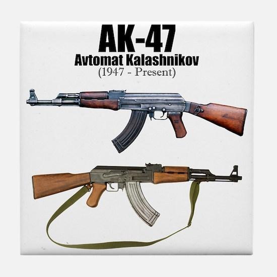Firearm Gun Tile Coaster