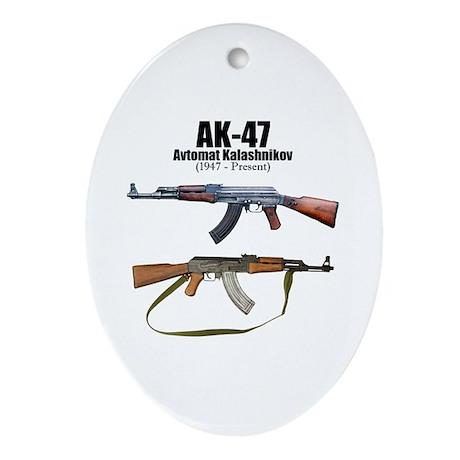 Firearm Gun Ornament (Oval)