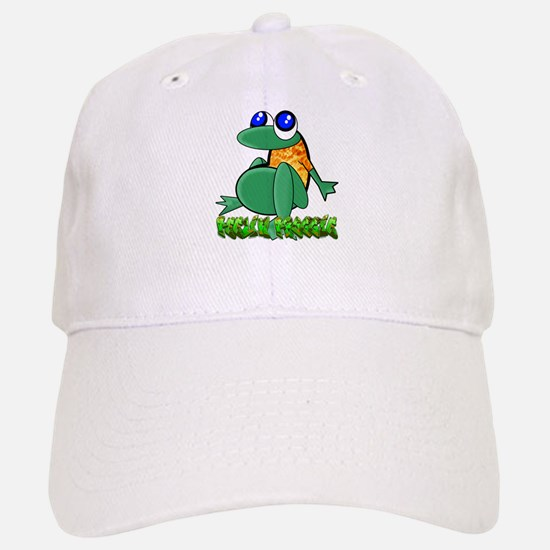 Feelin Froggy Baseball Baseball Cap