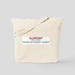 Support:  MOLECULAR BIOLOGY S Tote Bag