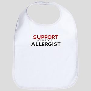 Support:  ALLERGIST Bib