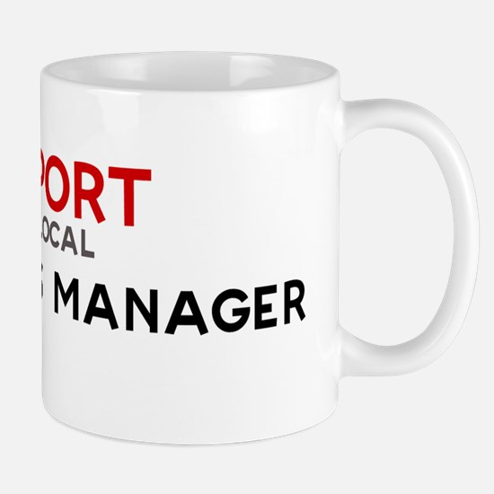 Support:  OPERATIONS MANAGER Mug