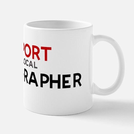 Support:  LEXICOGRAPHER Mug