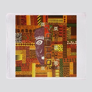 Sunset colours Patchwork - Throw Blanket