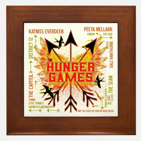 Hunger Games Gear Collective Framed Tile