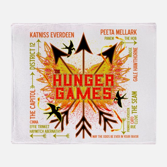 Hunger Games Gear Collective Throw Blanket