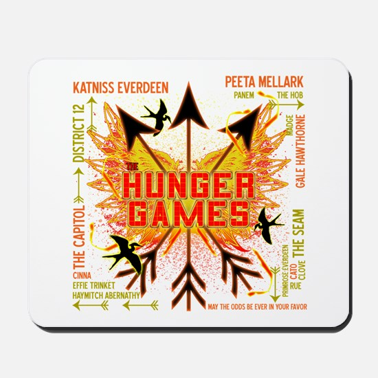 Hunger Games Gear Collective Mousepad