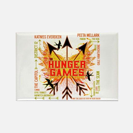 Hunger Games Gear Collective Rectangle Magnet