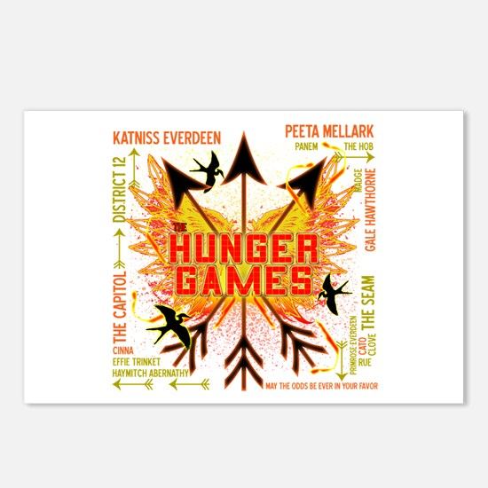 Hunger Games Gear Collective Postcards (Package of