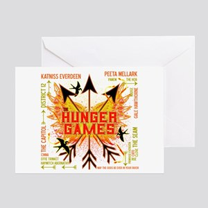 Hunger Games Gear Collective Greeting Card