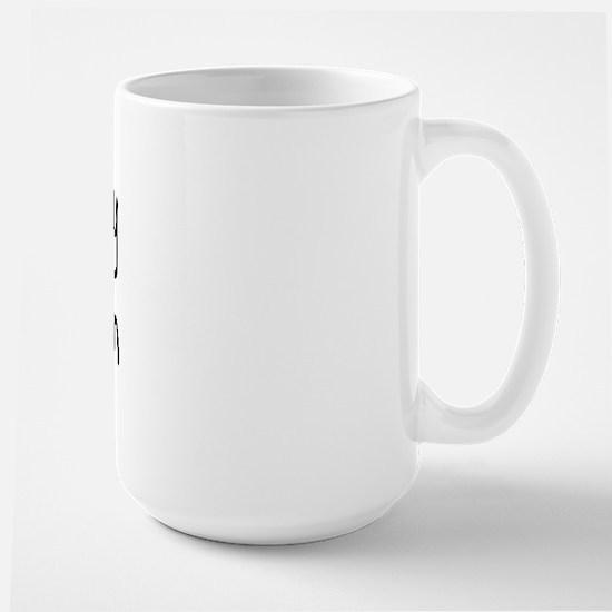 I LOVE MY Papichon Large Mug