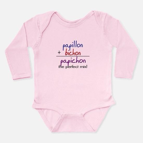 Papichon PERFECT MIX Long Sleeve Infant Bodysuit