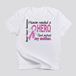 Heaven Needed a Hero Breast Cancer Infant T-Shirt