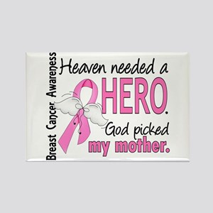 Heaven Needed a Hero Breast Cancer Rectangle Magne