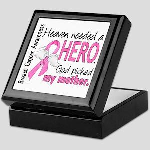 Heaven Needed a Hero Breast Cancer Keepsake Box