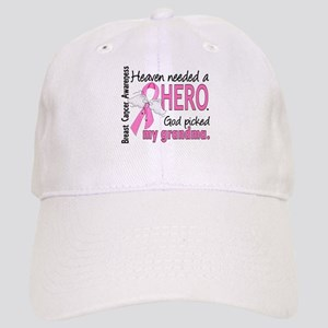 Heaven Needed a Hero Breast Cancer Cap