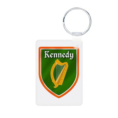 Kennedy Family Crest Aluminum Photo Keychain