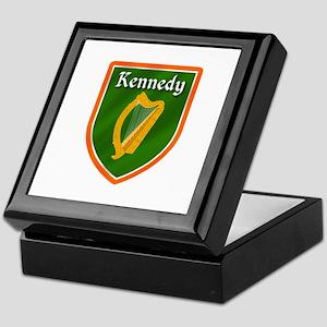 Kennedy Family Crest Keepsake Box