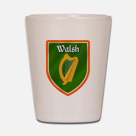 Walsh Family Crest Shot Glass