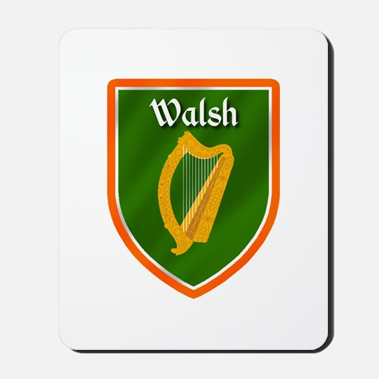 Walsh Family Crest Mousepad