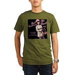 Rick 'Flips' Out Organic Men's T-Shirt (dark)
