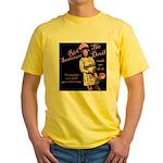 Rick 'Flips' Out Yellow T-Shirt