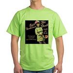 Rick 'Flips' Out Green T-Shirt