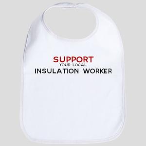 Support:  INSULATION WORKER Bib