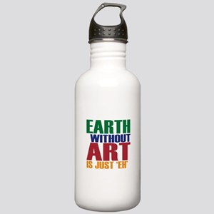 Earth Without Art Stainless Water Bottle 1.0L