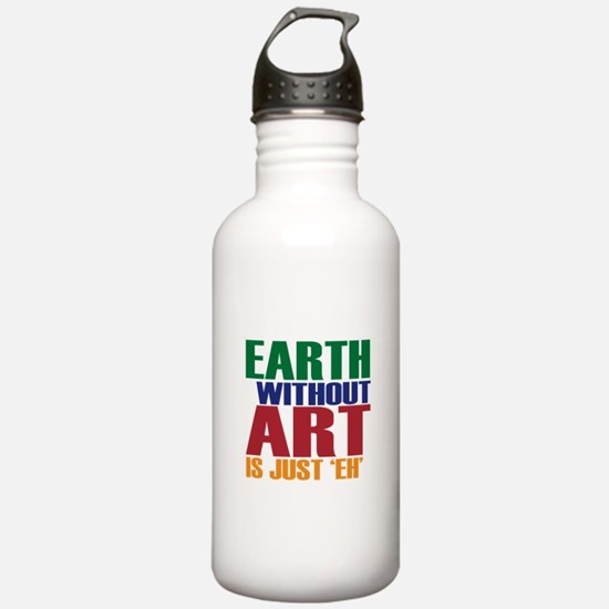 Earth Without Art Sports Water Bottle