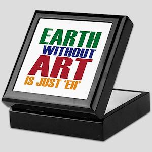 Earth Without Art Keepsake Box