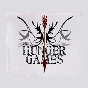 Hunger Games Gear the Arrows Throw Blanket