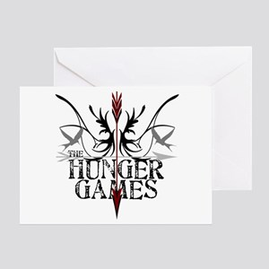 Hunger Games Gear the Arrows Greeting Card
