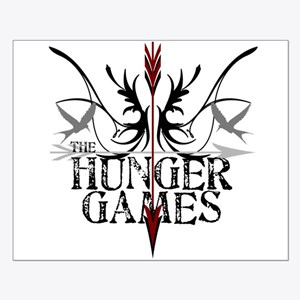Hunger Games Gear the Arrows Small Poster