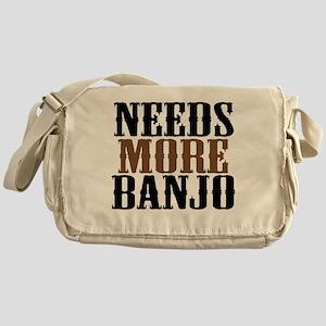 Needs More Banjo Messenger Bag