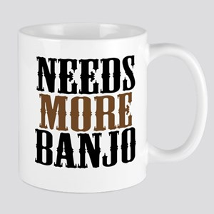 Needs More Banjo Mug